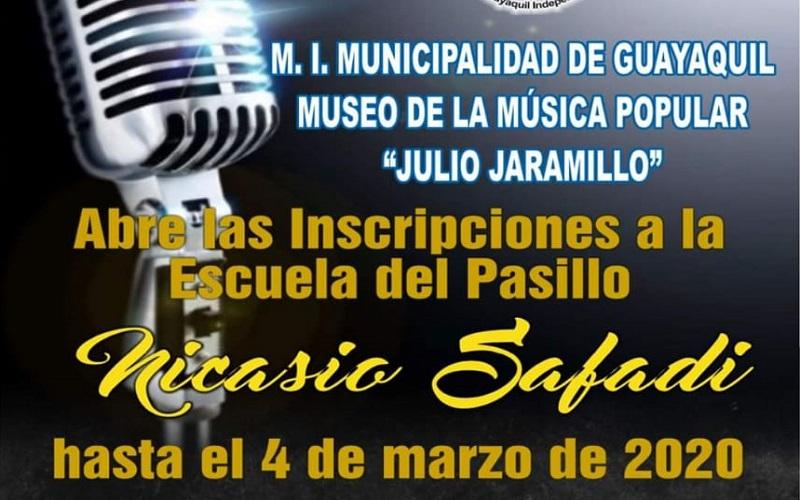 Photo of El museo de la Música Popular apertura inscripciones para la escuela del pasillo Nicasio Safadi para la promoción 2020 – 2021