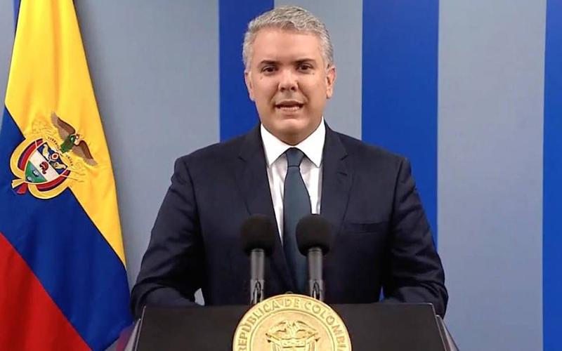 Photo of Duque defiende elecciones libres para empezar a solucionar crisis venezolana
