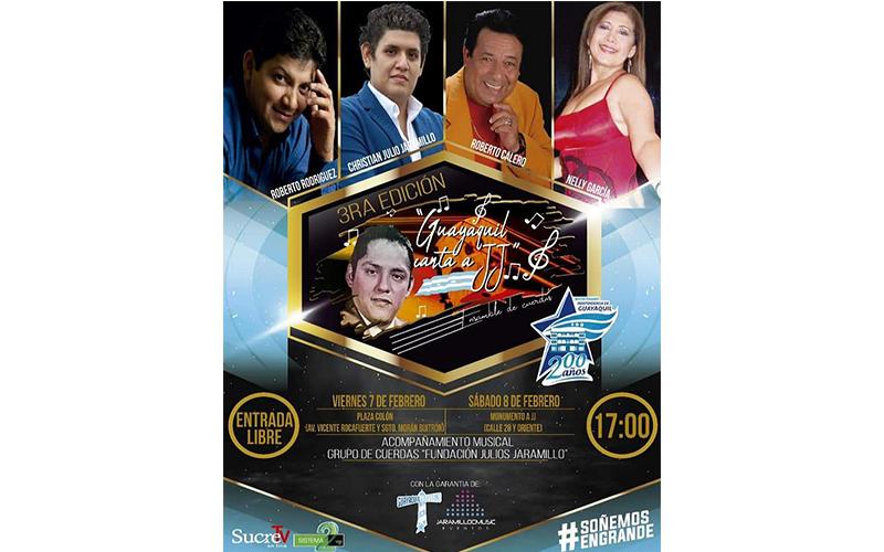 Photo of Guayaquil canta a JJ con ensamble de cuerdas tercera edición