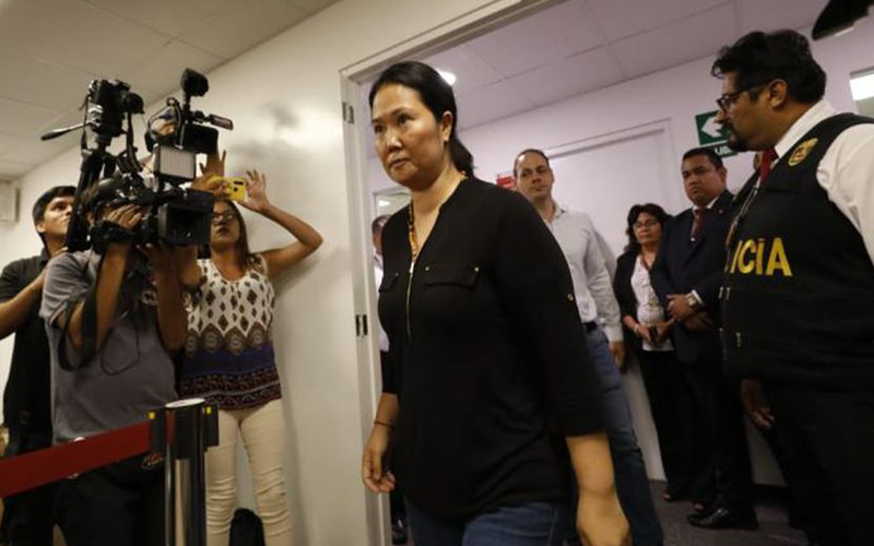 Photo of Keiko Fujimori: PJ admite a trámite apelación contra prisión preventiva