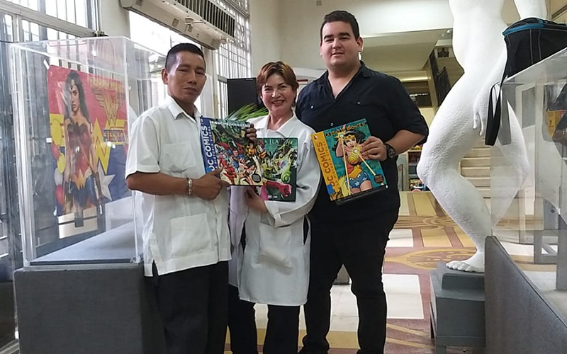 Photo of Ultiman detalles de la próxima exhibición en la Biblioteca Municipal de Guayaquil