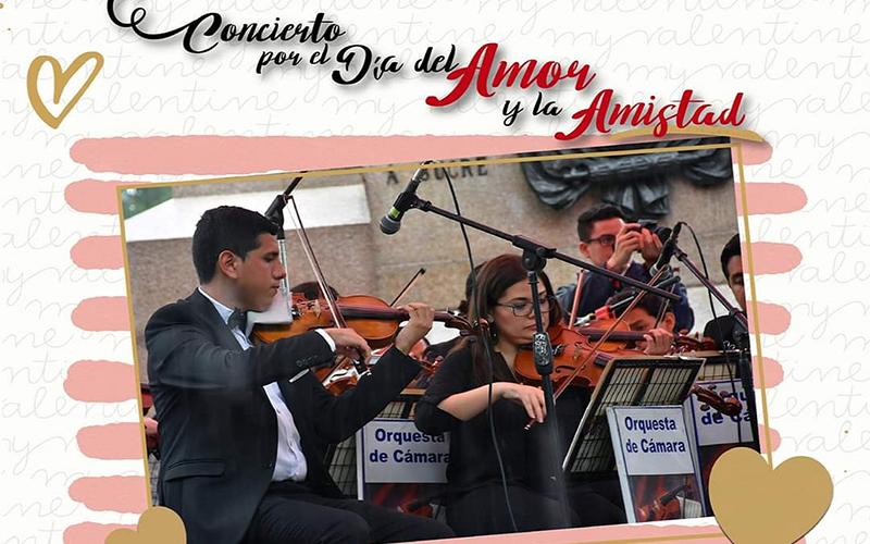 Photo of Concierto por el Día del Amor y la Amistad