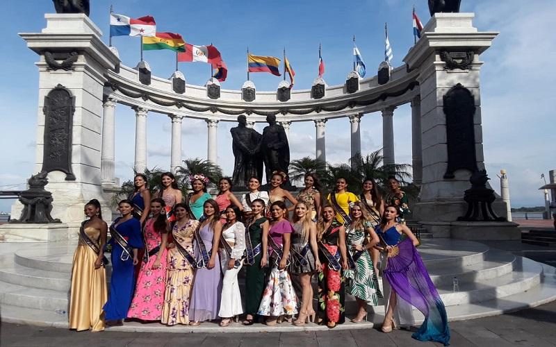 Photo of Las candidatas a Miss Ecuador 2020 fueron parte del VII Desfile del Carnaval de Guayaquil