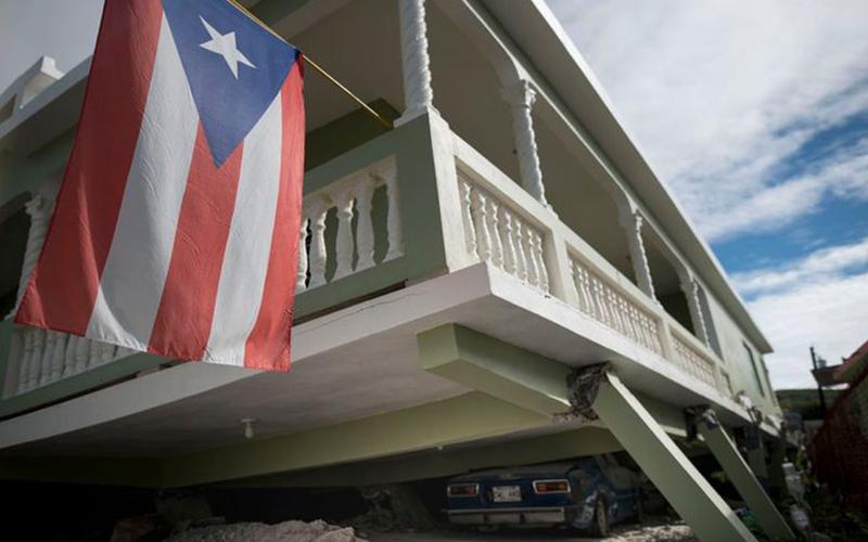 Photo of Un sismo de magnitud 5 en el sur de Puerto Rico se siente en toda la isla