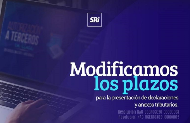 Photo of Servicio de Rentas Internas modificó plazos de presentación de declaraciones y anexos tributarios