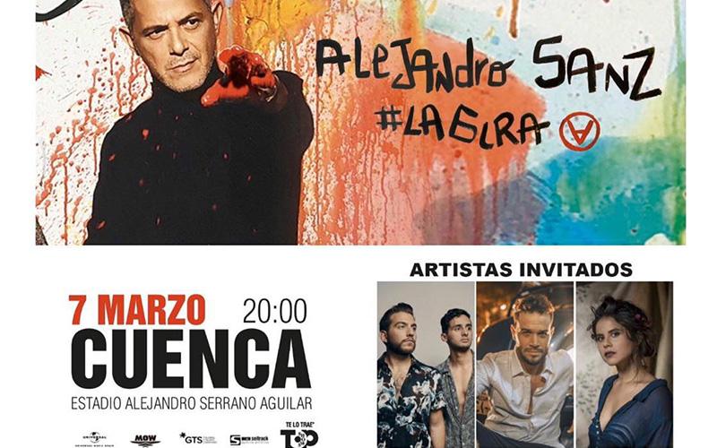 Photo of Tres Dedos cantará con Alejandro Sanz en Cuenca y estrena vídeo «Prueba conmigo»