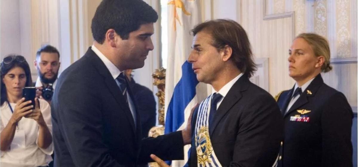 Photo of Sonnenholzner participó en la posesión de Luis Lacalle Pou en Uruguay