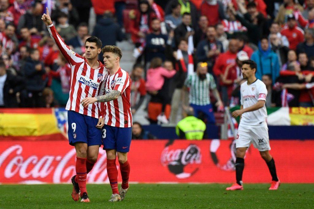 Photo of 2-2. El Sevilla sostiene su renta al empatar con el Atlético en el Wanda Metropolitano