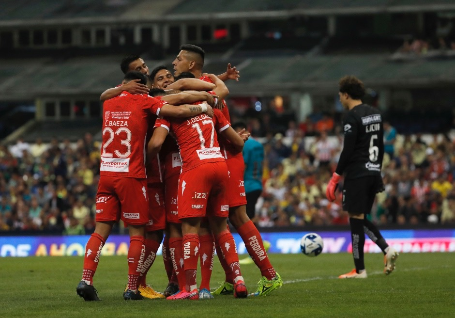Photo of Nexaca de Kevin Mercado se tomo el Azteca y goleó al América