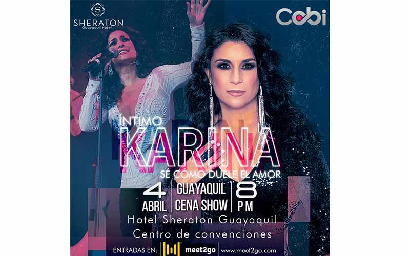Photo of Karina llega a Guayaquil