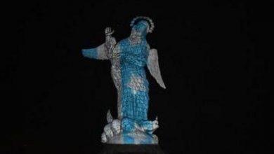 Photo of Iluminan a la Virgen del Panecillo como mensaje de aliento ante la pandemia
