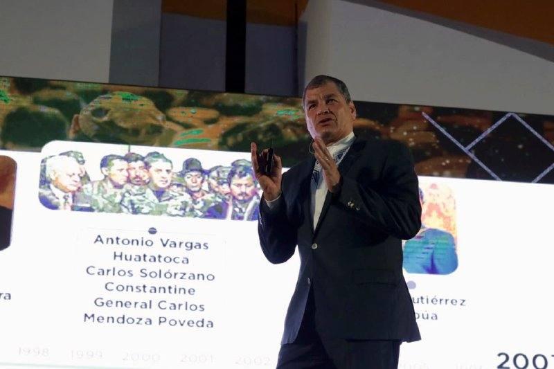 Photo of ¿Rafael Correa se beneficiaría de un cambio en reglamentos del CNE?