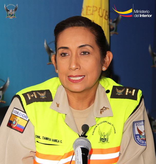 Photo of Tannya Varela: 'Mi papá quería que sea economista, lo mío era ser policía'