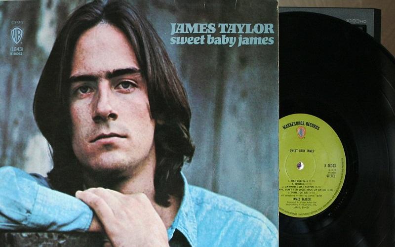 Photo of Sweet Baby James, 50 años y sin una arruga