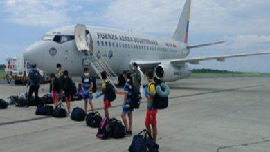 Photo of FAE trae de regreso a 44 ecuatorianos, entre ellos 37 niños, desde Chile
