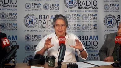 Photo of Lasso a Correa: 'Acá hay ciudadanos muriendo y usted preocupado por politizar'