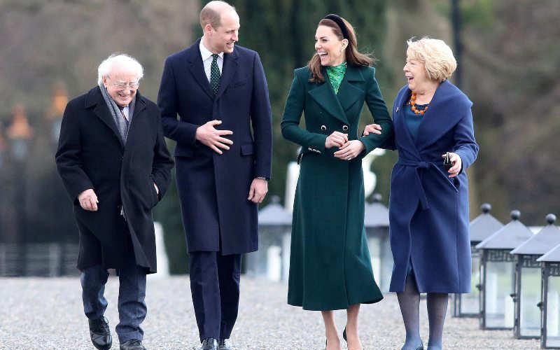 Photo of Tras la fuga de los Sussex, los Cambridge prueban su popularidad en Irlanda