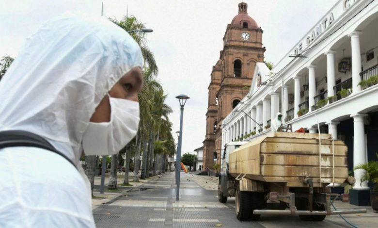 Photo of La cuarentena por coronavirus demora el debate legislativo para fijar la nueva fecha de las elecciones en Bolivia