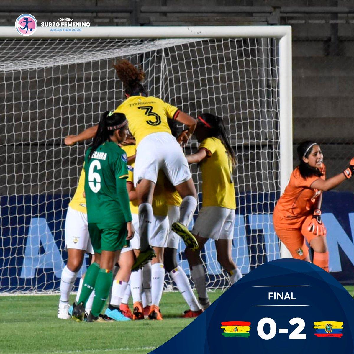 Photo of Ecuador venció a Bolivia en el Sudamericano Sub 20 de fútbol femenino