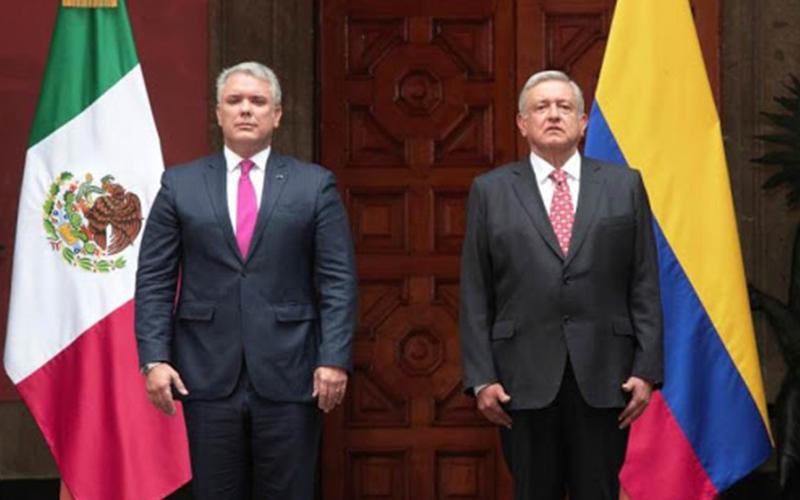 Photo of López Obrador y Duque estrechan lazos en turismo, seguridad y migración