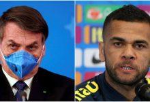 Photo of Dani Alves, muy enojado con Bolsonaro por decir que el coronavirus es una «gripecita»