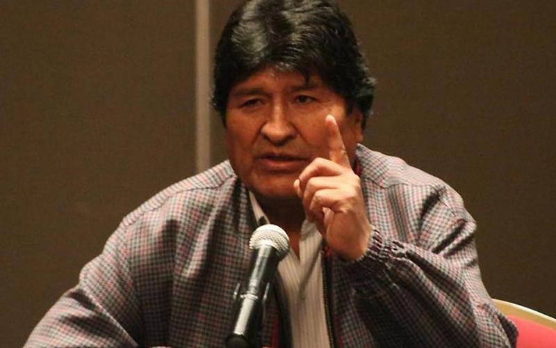 Photo of Evo Morales asegura que si hubo fraude en las elecciones «fue de la OEA»