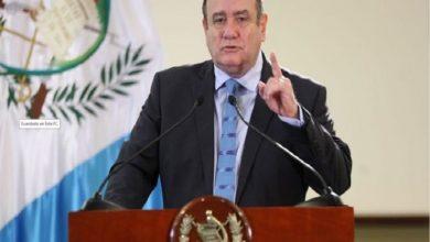 Photo of El presidente de Guatemala da negativo en la prueba del coronavirus