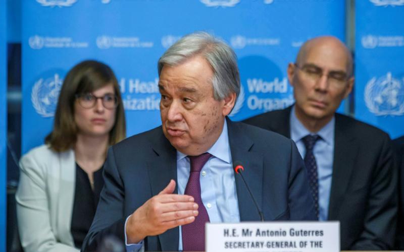 Photo of Guterres suspende viaje y ordena teletrabajo en sede ONU de NYC por coronavirus