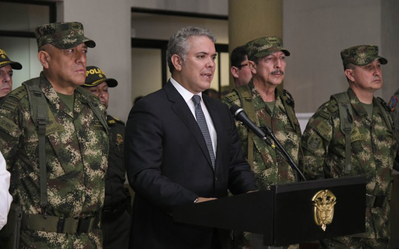 Photo of Duque acusa a Maduro de «abrir las puertas» a Hezbolá para que actúe desde Venezuela