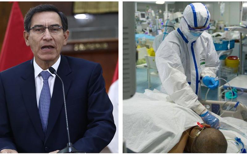 Photo of Martín Vizcarra confirma el primer caso de coronavirus en el Perú