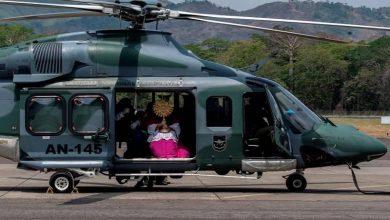 Photo of Helicópteros y la tecnología, aliados para llevar la Semana Santa a fieles