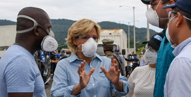 Photo of Mesa técnica del Municipio de Guayaquil sugiere no ir a fase de distanciamiento; alcaldesa Viteri acoge criterio