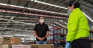 Photo of Empresas privadas donan más de 12 mil productos para agentes y fiscalizadores de la AMT