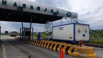 Photo of Guayas fumiga y sanitiza en sus peajes a los camiones de carga