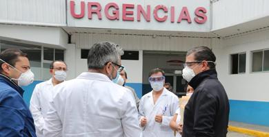 Photo of Juan Sebastián Roldán constata atención en Hospital del IESS de Ambato
