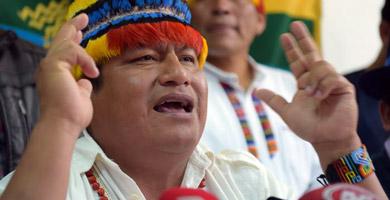 Photo of Jaime Vargas: 'El Gobierno está provocando al pueblo'