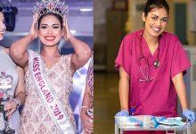 Photo of Miss Inglaterra deja la corona para volver a trabajar como médico durante pandemia