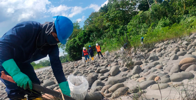 Photo of Petroecuador: actividades de remediación en Ríos Coca y Napo generan empleo
