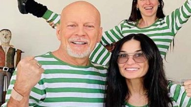 Photo of Bruce Willis y Demi Moore comparten confinamiento