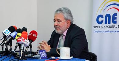 Photo of Verdesoto: 'Mientras no haya condiciones de salubridad, las formas tradicionales de elección no se podrían dar'