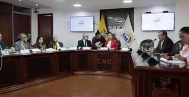 Ecuador: Consejo Nacional Electoral (CNE) ratificó que elecciones serán el 7 de febrero