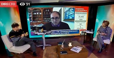 Photo of Marco Flores deja en evidencia la mentira de Richard Martínez | Sí pagó los intereses de bonos 2020, no solo el capital
