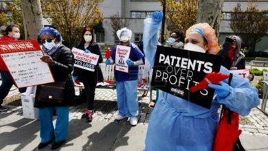 Photo of Las enfermeras de El Bronx exigen respeto a autoridades: «Estamos muriendo»