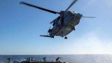 Photo of Se estrella en el Mediterráneo un helicóptero canadiense de la OTAN