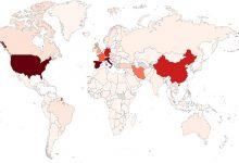 Photo of El mapa mundial del coronavirus: más de un millón de casos y más de 52.000 muertos en todo el mundo