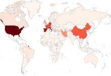 Photo of El mapa mundial del coronavirus: más de 1,2 millones de casos y más de 64.000 muertos en todo el mundo