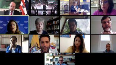 Photo of Ecuador particioó en la segunda reunión de la Plataforma de acción contra el coronavirus enfocada en América Latina