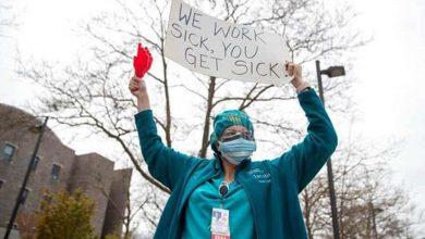 Photo of El sindicato de enfermeras demanda al Estado de Nueva York y dos hospitales
