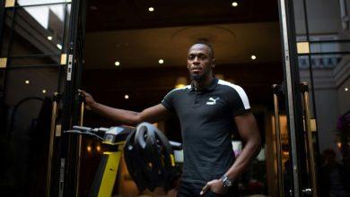 Photo of Bolt ilustra el distanciamiento social con foto de su victoria en Pekín 2008