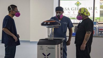 Photo of Tres robots se encargan de esterilizar hospital para el coronavirus en Quito